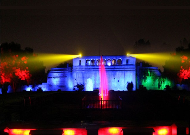 Sound and Light Show at Shaniwarwada, Pune