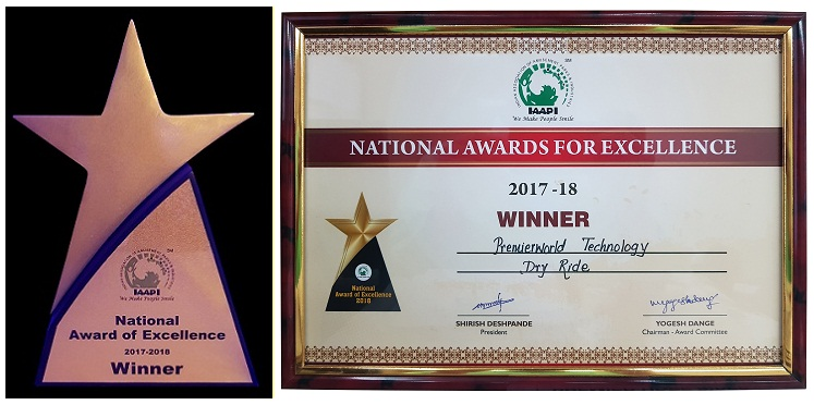 National Award of Excellence 2017-2018